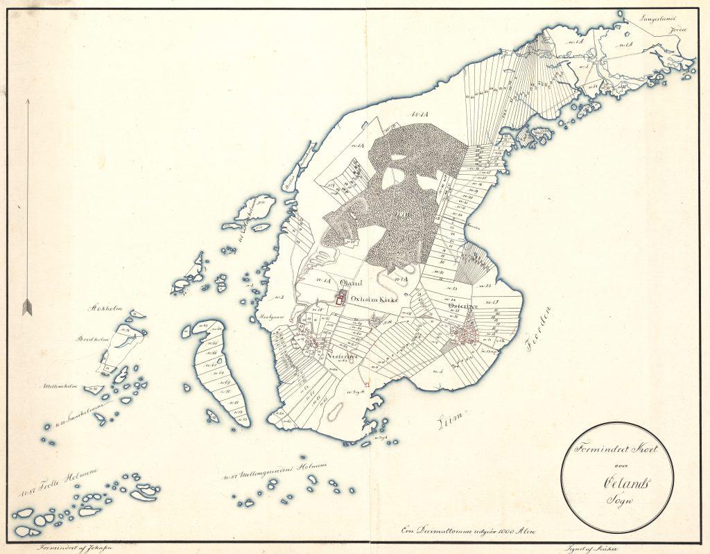 Olands Historie Oland Limfjorden